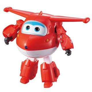Super Wings Transforming Jett 12 cm