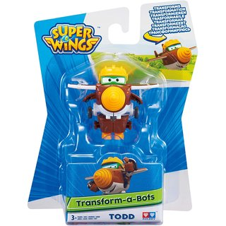 Super Wings Transform-A-Bots Todd 5 cm