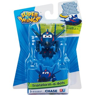 Super Wings Transform-A-Bots Agent Chace 5 cm